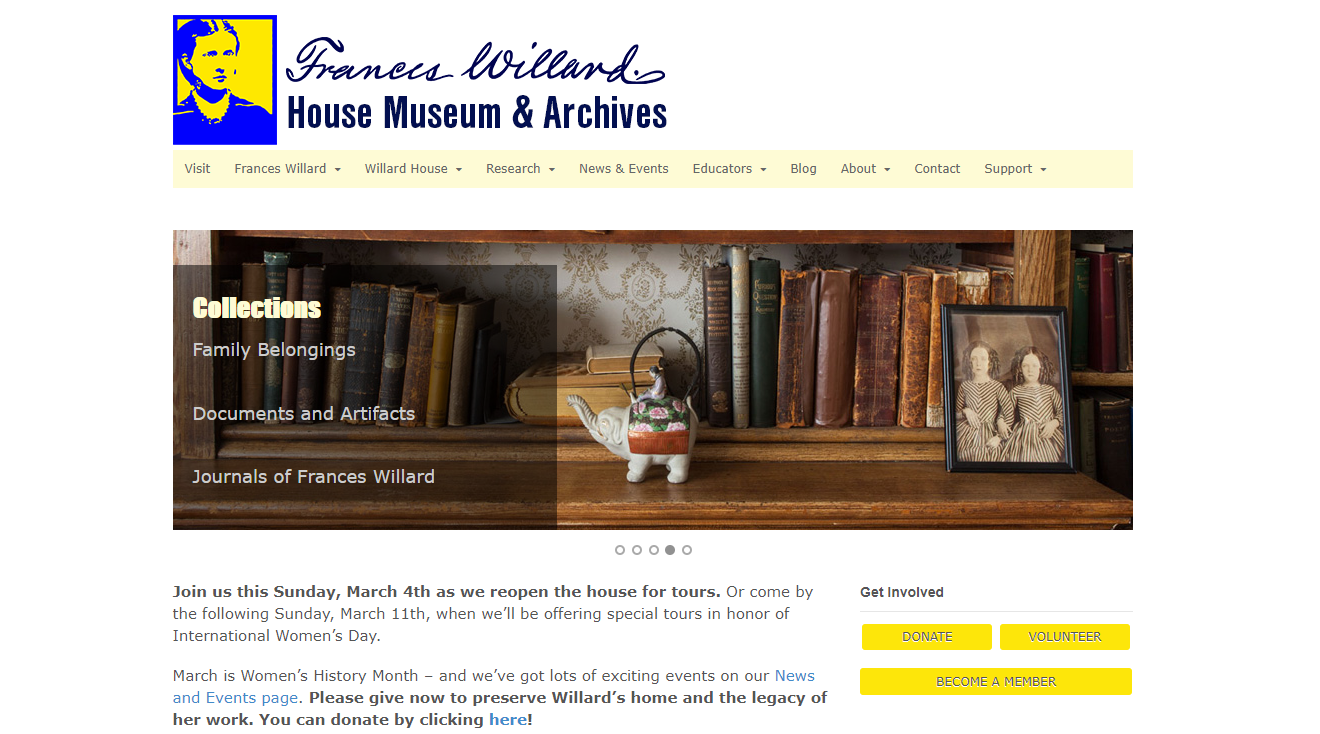 Museum Membership Software Frances Willard