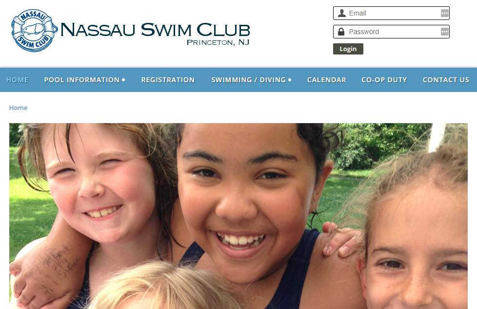 Nassau Swimming Club Software