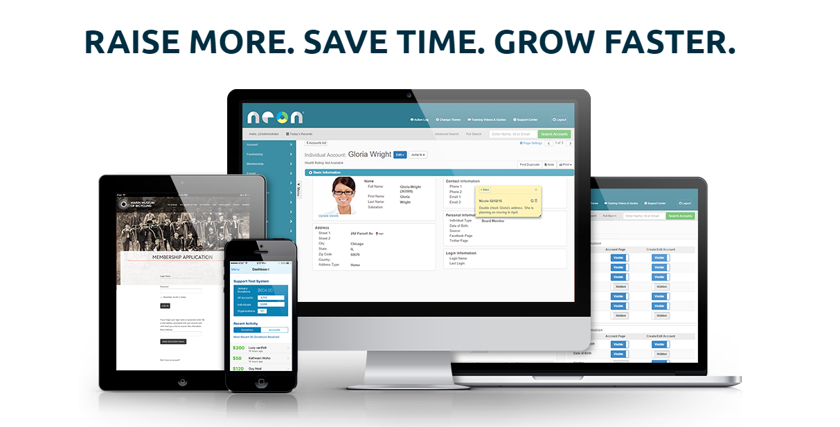 NeonCRM Membership Management Software
