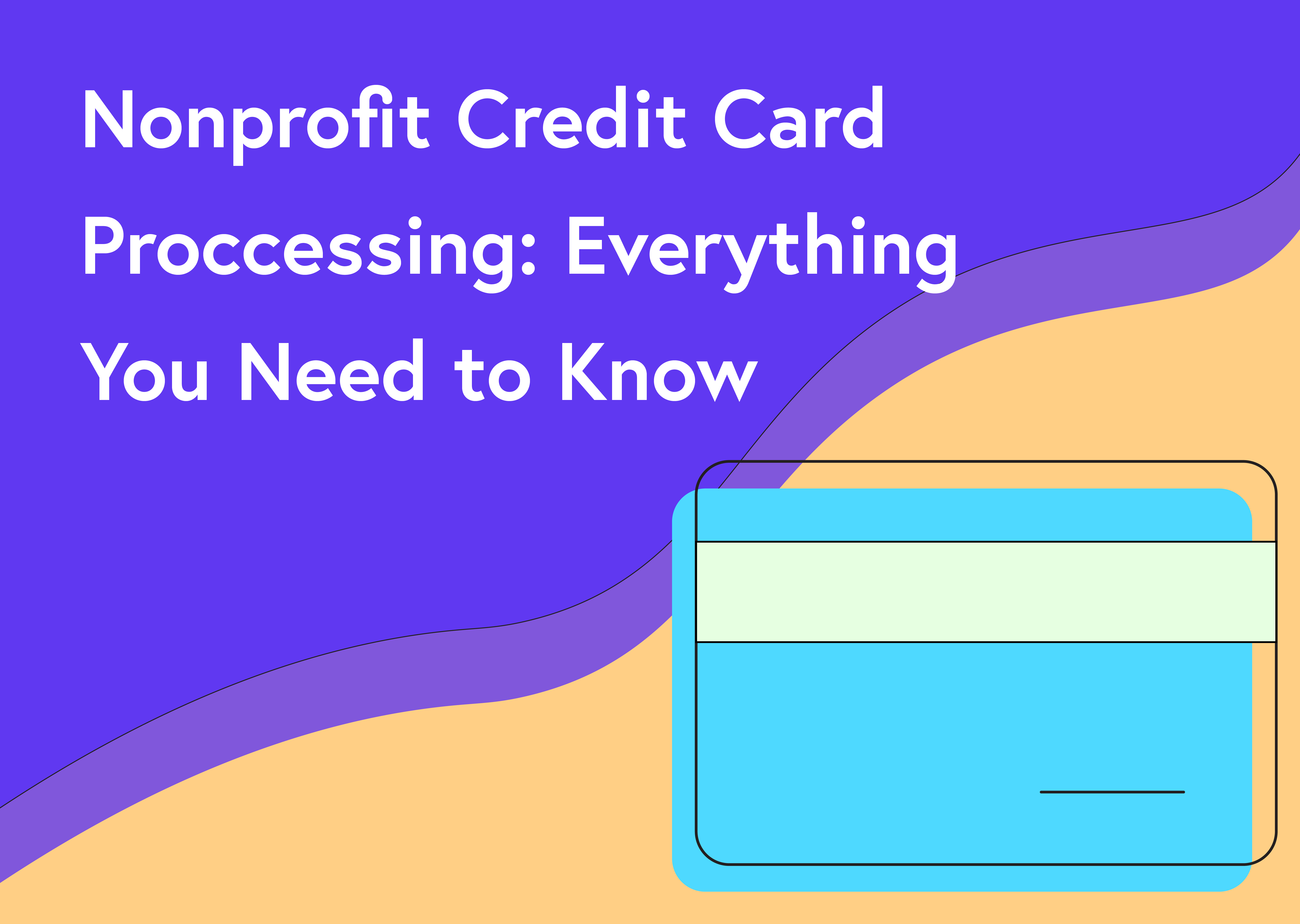Non profit credit card processing