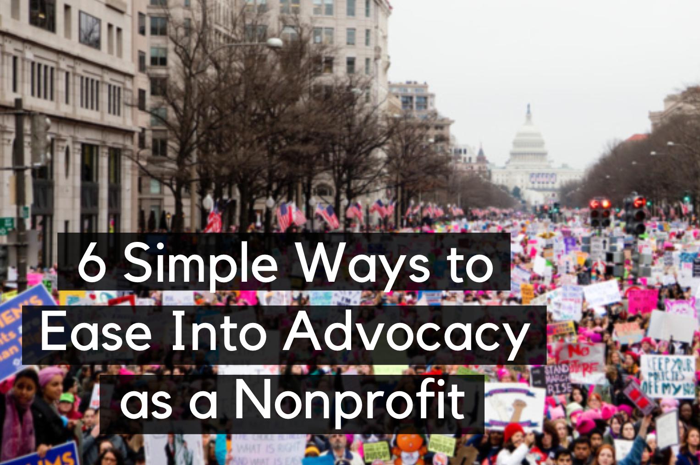 Nonprofit advocacy blog