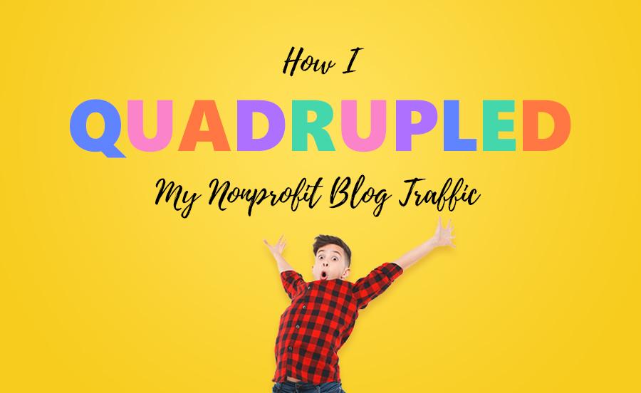 Nonprofit Blog Traffic