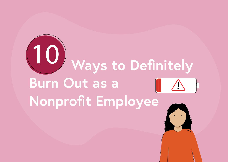 nonprofit burnout