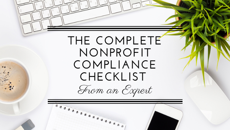 Nonprofit Compliance Checklist