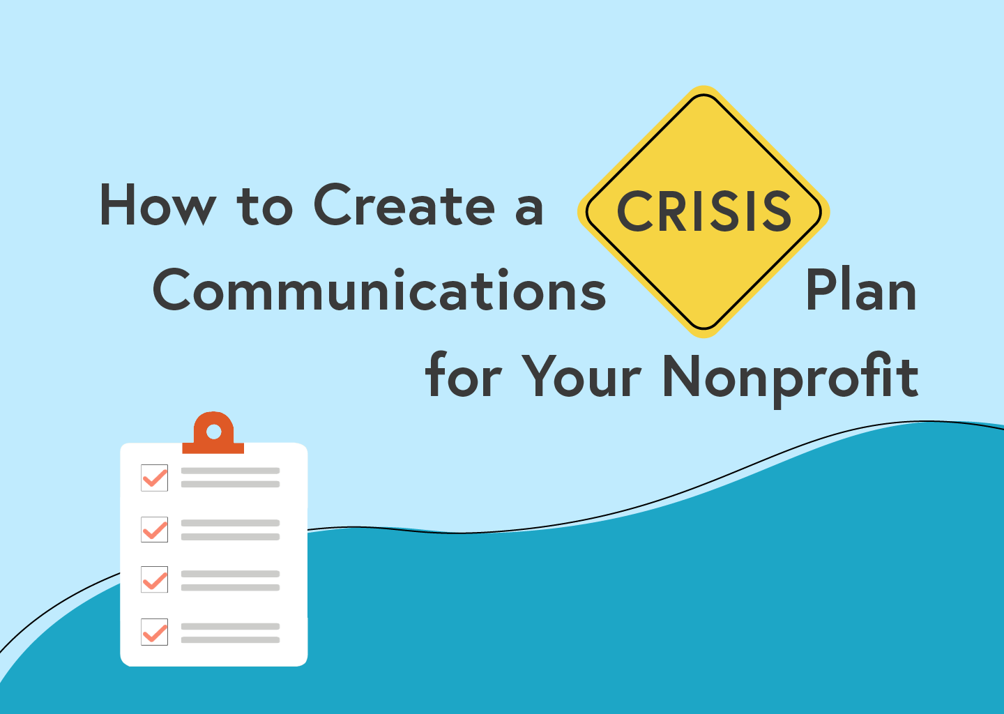 nonprofit crisis communications plan