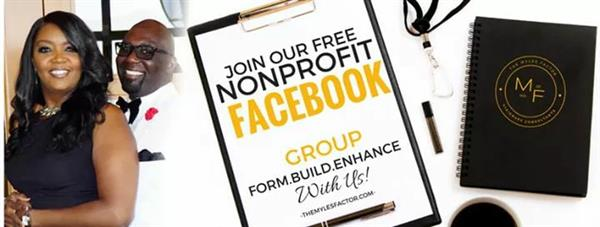 nonprofit facebook group