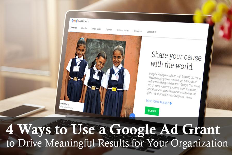 Nonprofit Google Ad Grant
