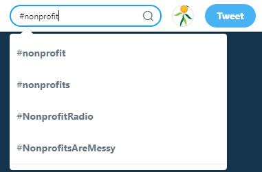 Nonprofit Hashtag