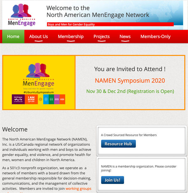 North American MenEngage Network
