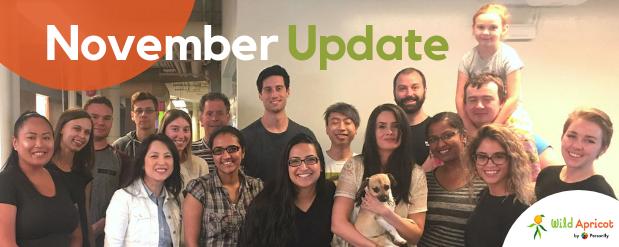 November Update blog header