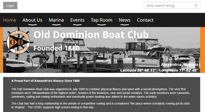 ODBC Membership Website Example