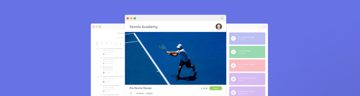 Omnify Tennis Club Software