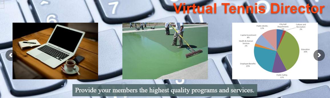 Performance Tennis Management software