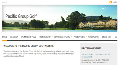 PGG Club Website