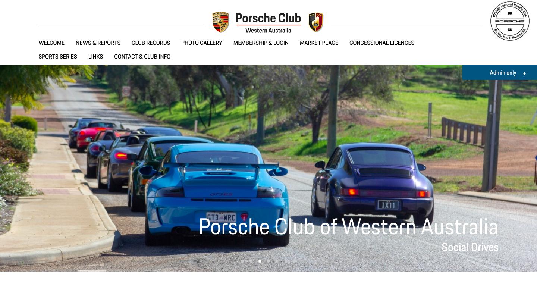 Porsche Club of Western Australia