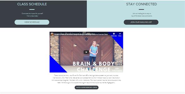 Power for Parkinsons 2 best nonprofit website