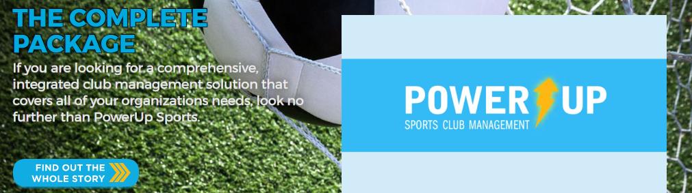 Power Up sports team management app