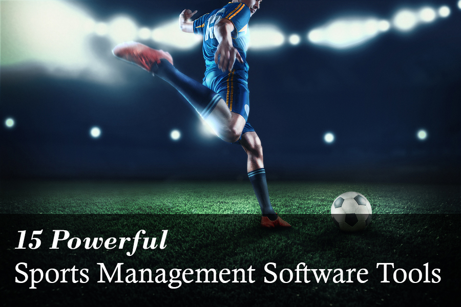 Powerful Sports Management Software