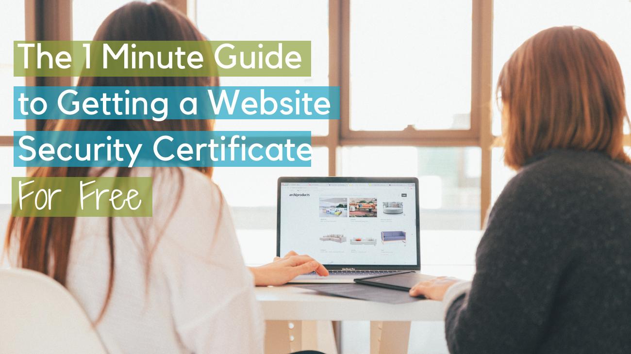 SSL certificate infographic