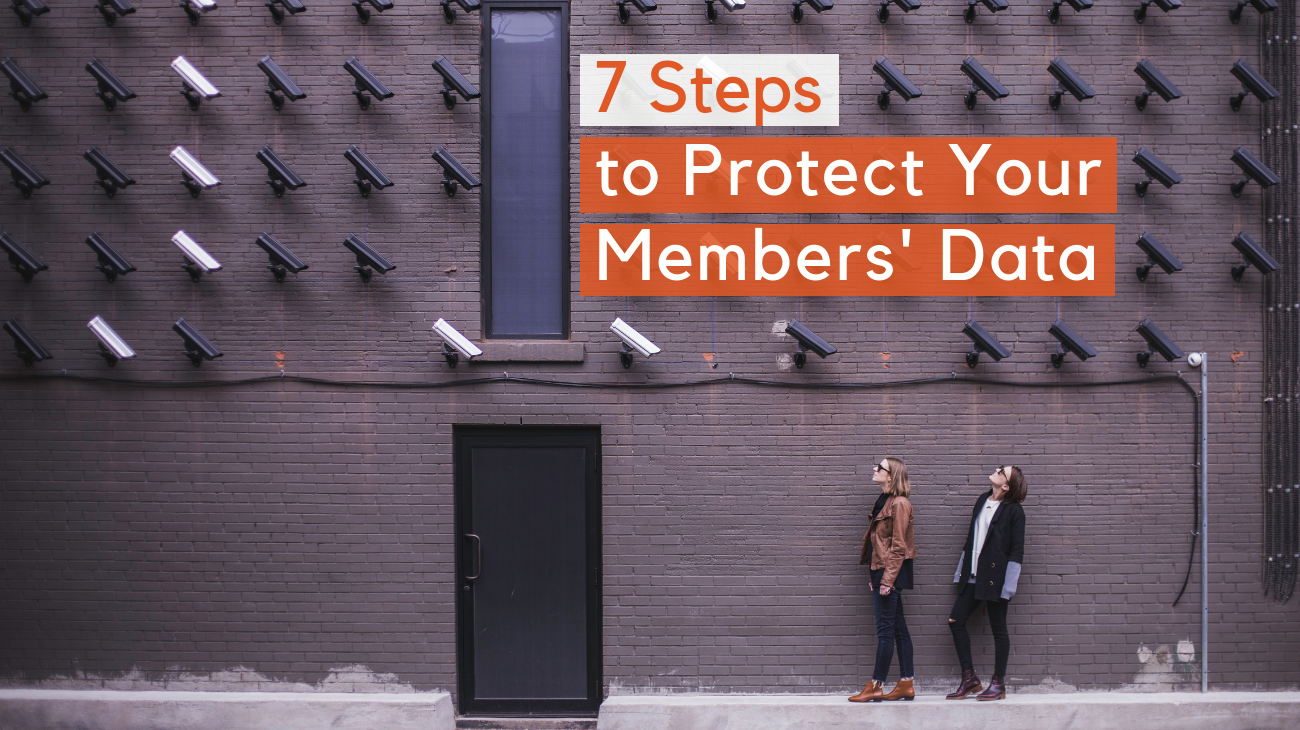Keeping member data secure header