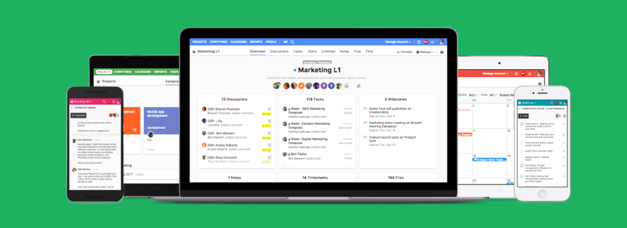 ProofHub Time Tracking Software