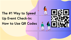 QR code check in blog header