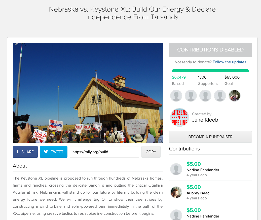 rally crowdfunding for nonprofits