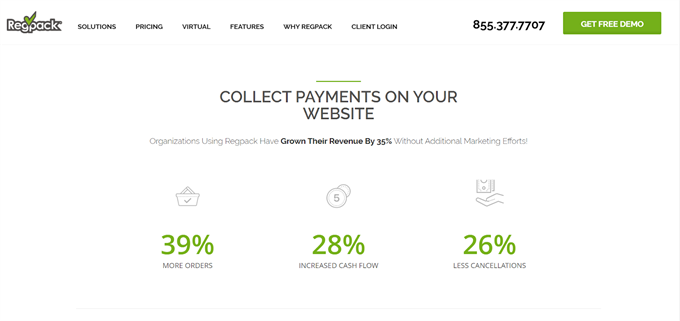 Regpack Payment Processing