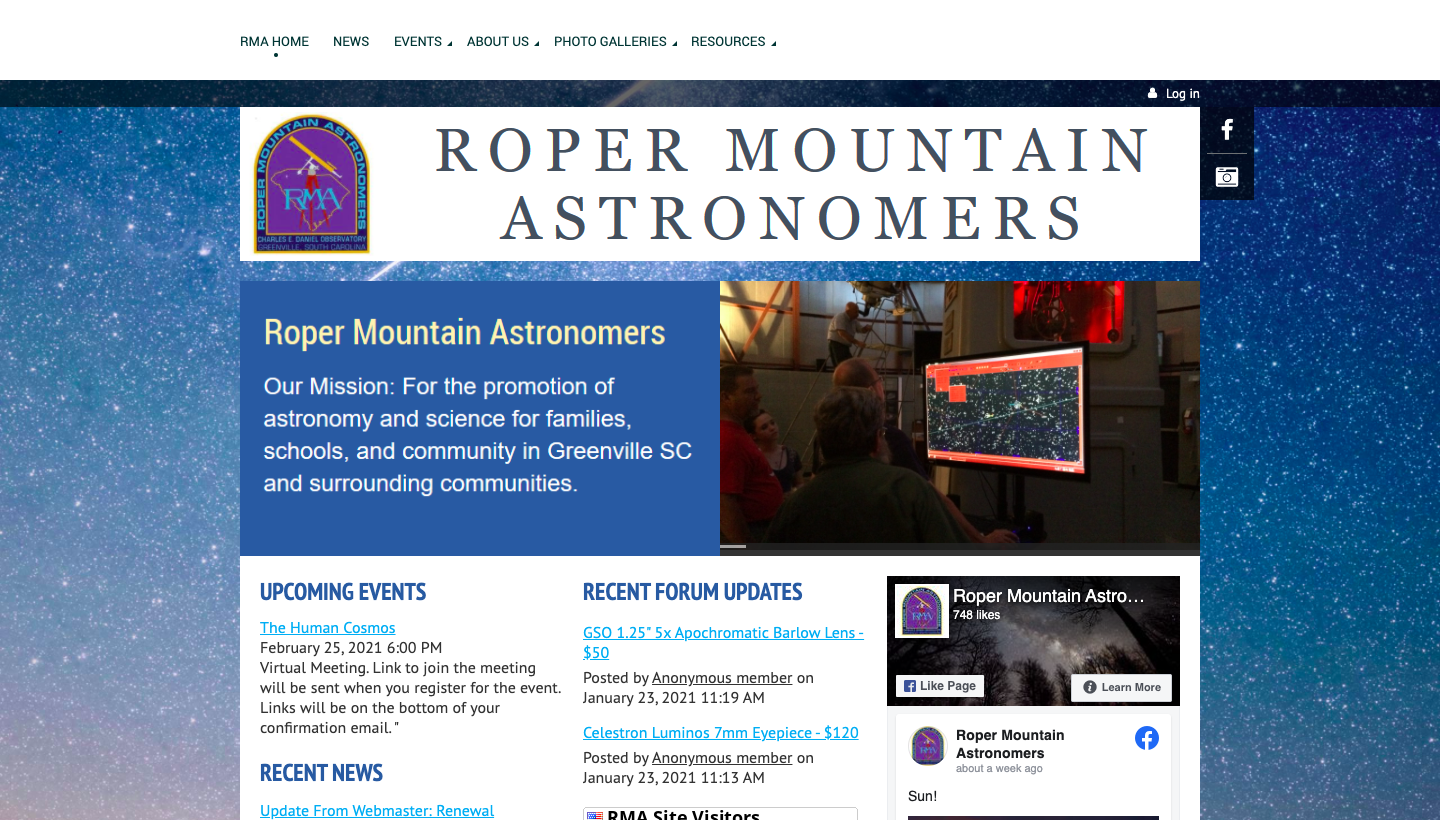 Roper Mountain Astronomers