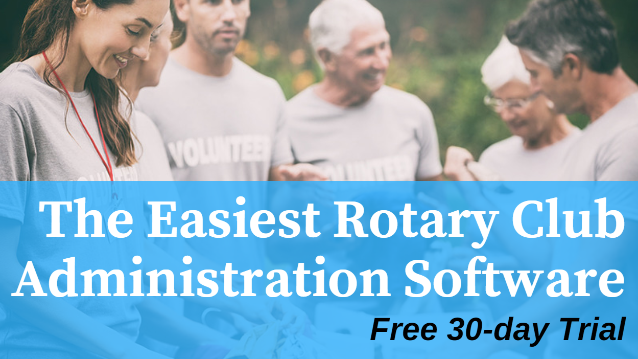 Rotary Club Administration Software