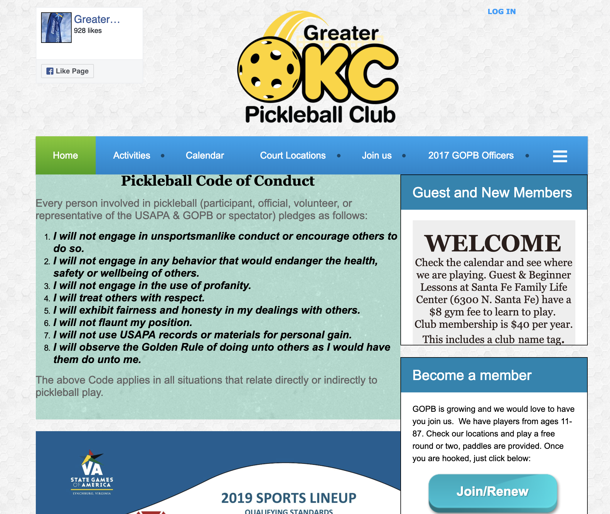pickleball club management software