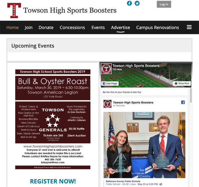 booster club software