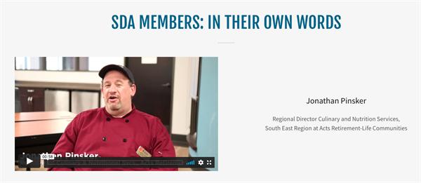 sda member video testimonials
