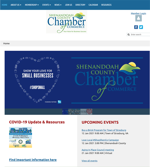 Shenandoah County Chamber of Commerce