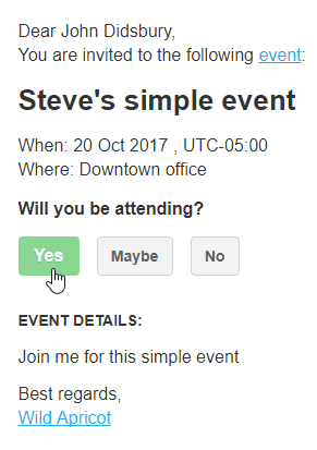 Simple Event