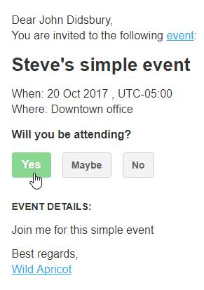 Simple Event