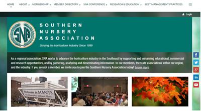SNA Membership Website Example