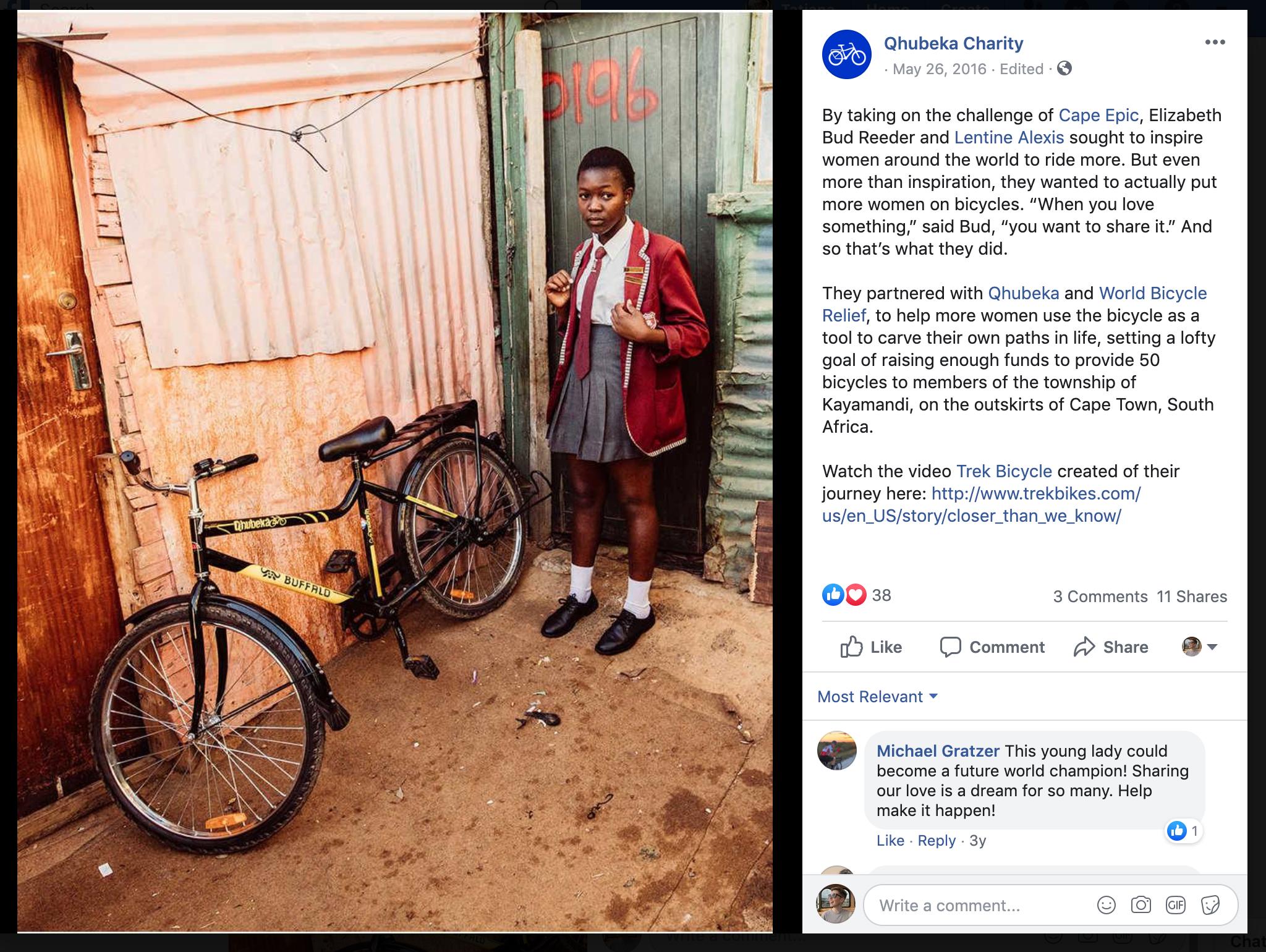 social media fundraising - facebook