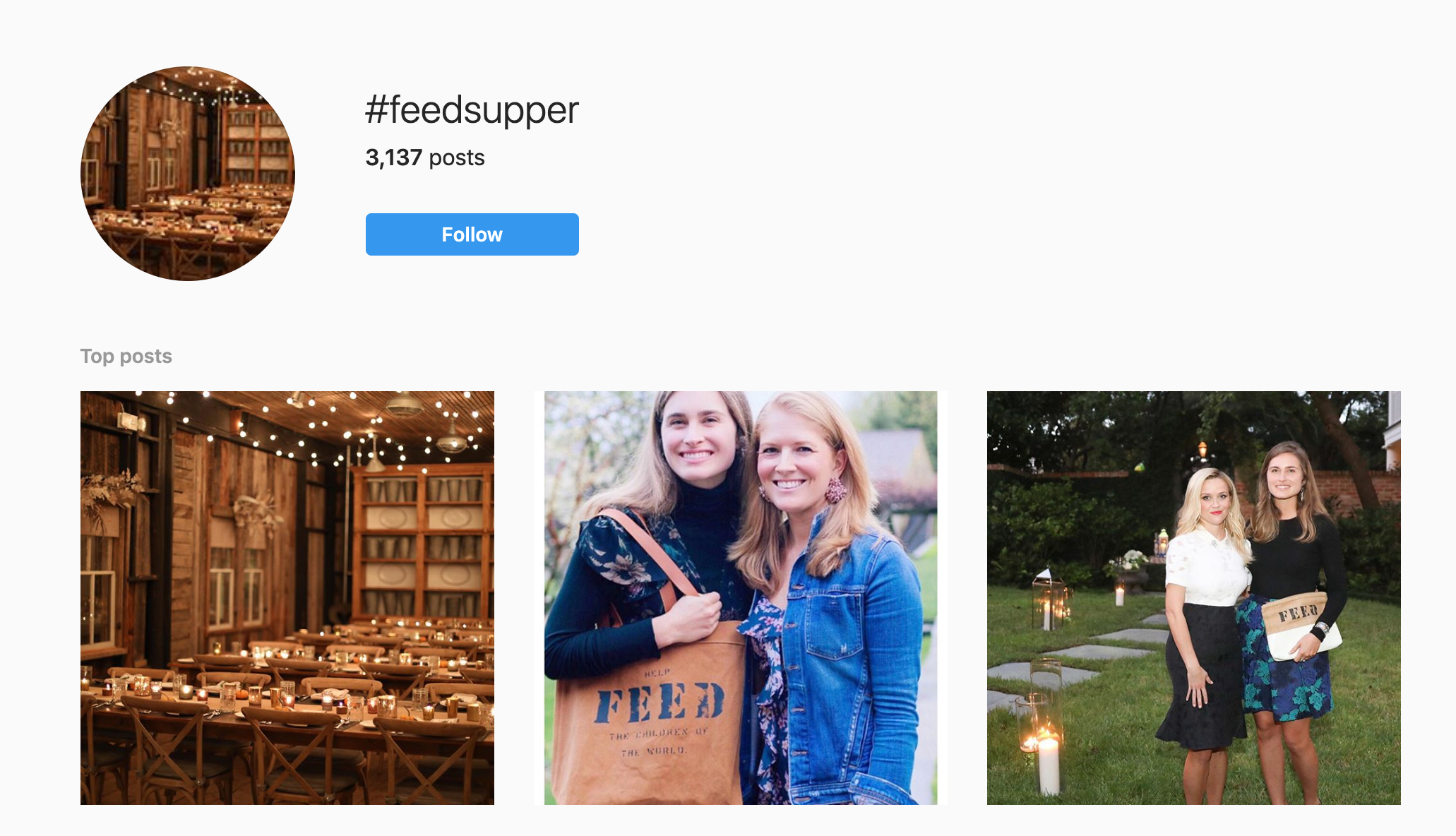 social media fundraising - instagram