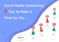 social media fundraising blog post