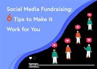 social media fundraising blog post