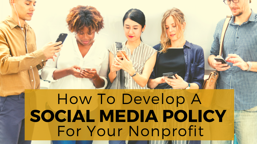 nonprofit social media policy