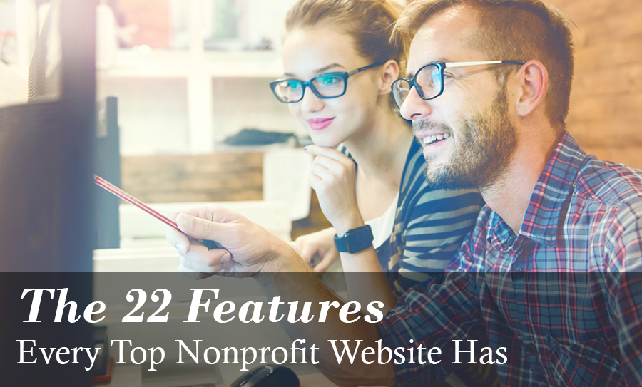 Nonprofit Website Features