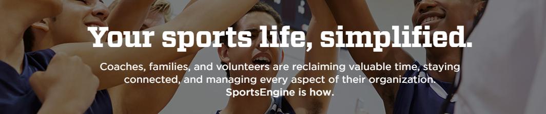 Sports Engine sports team management app