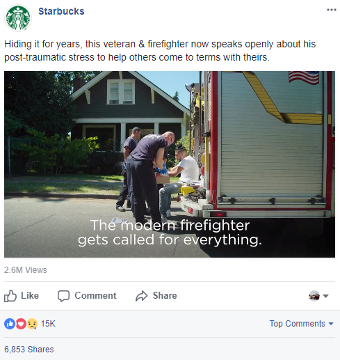 Millennial Donors Starbucks