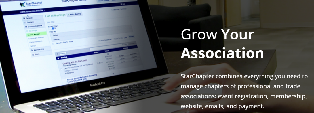StarChapter membership management software