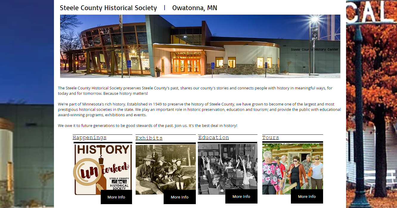 Steele County Museum Membership Software