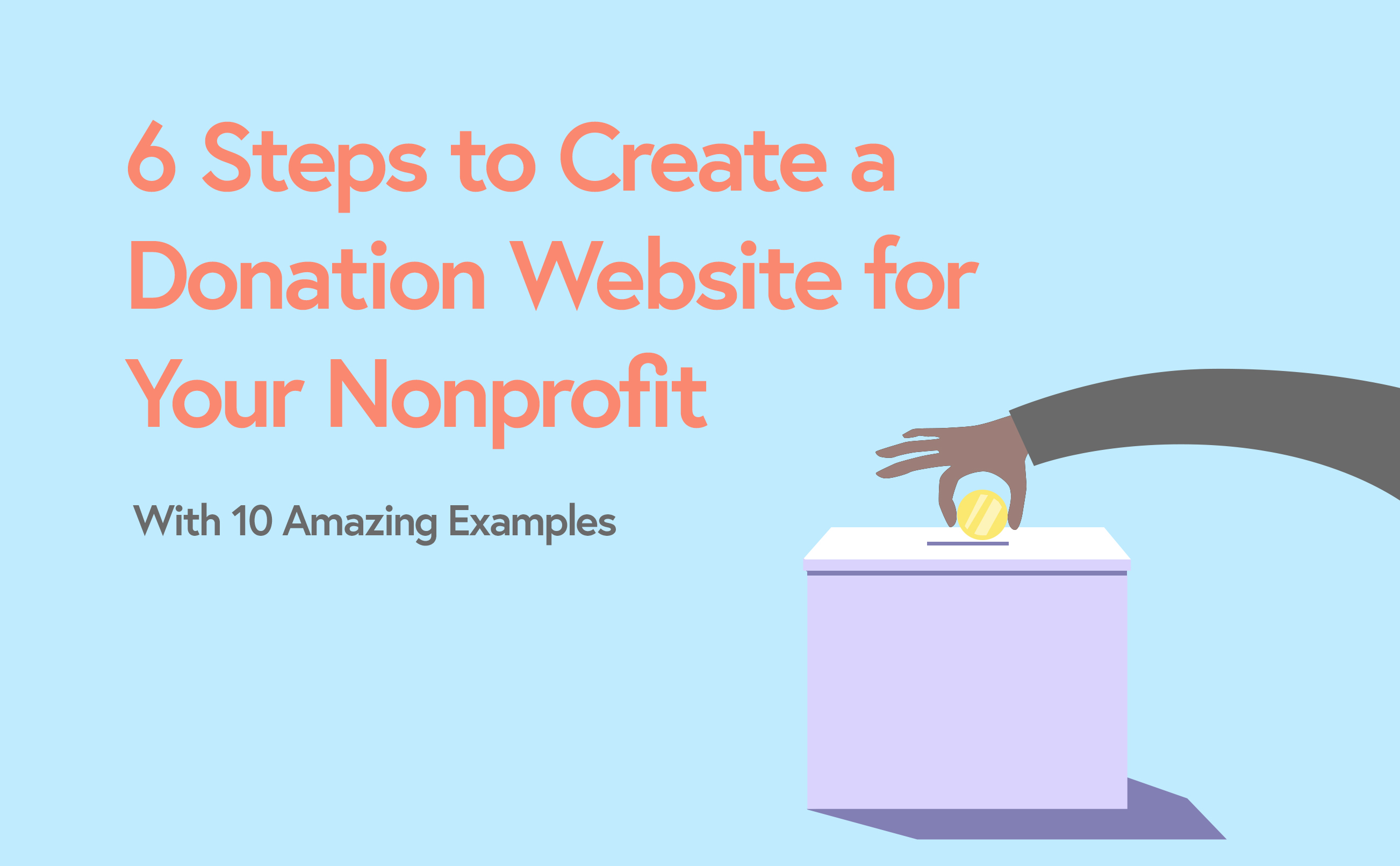 How to Create a Donation Website