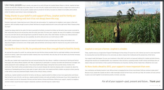nonprofit annual report