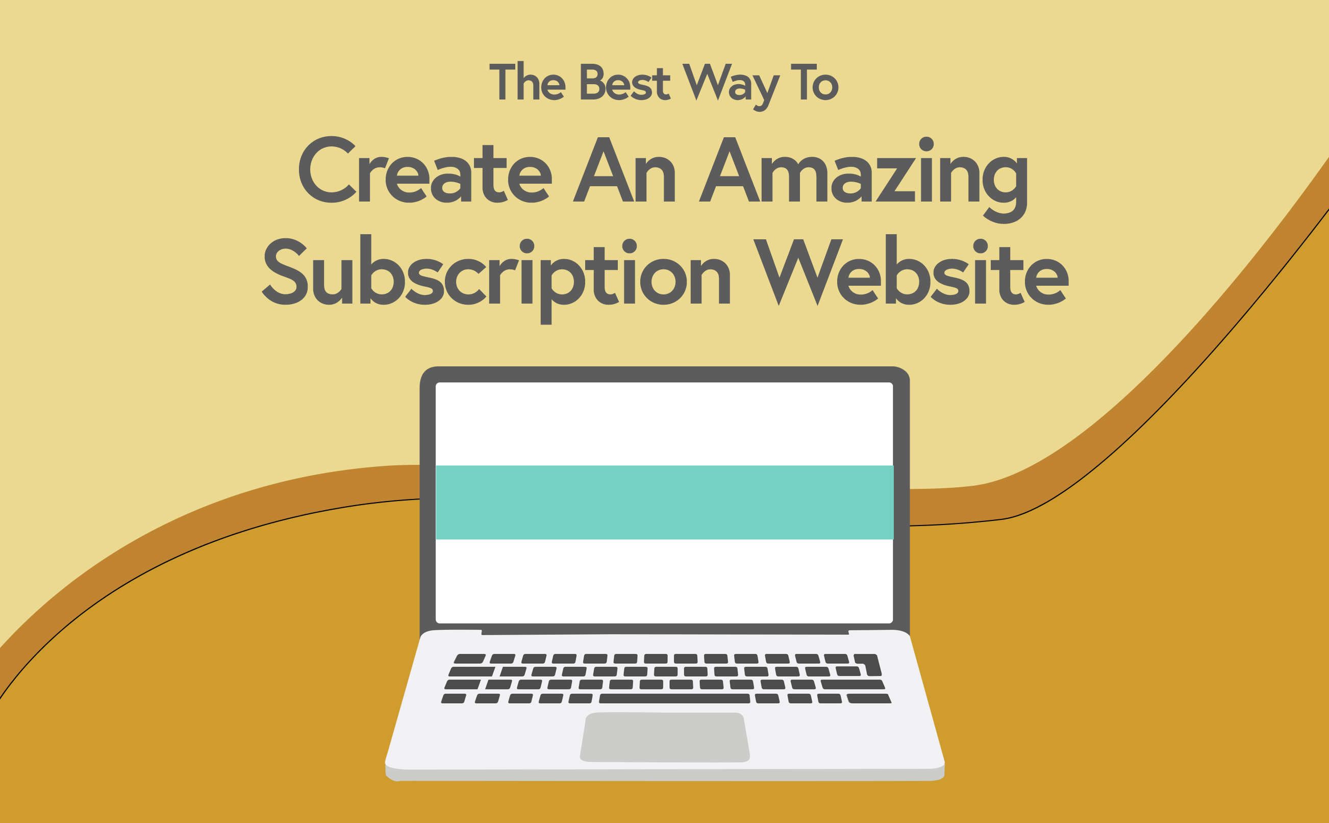 Subscription Website